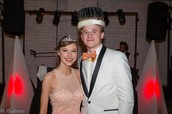 Prom Queen and King: Rachel Printz and Kyle Cloutier