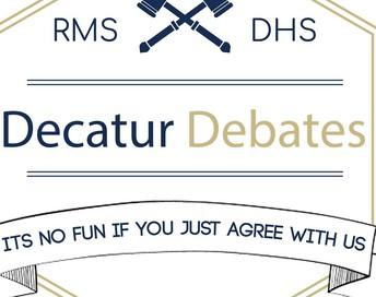 Decatur Debaters - Debating Virtually!