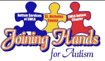 Joining Hands for Autism Awareness Walk at St. Louis Catholic Saturday