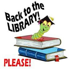 ALL LIBRARY BOOKS ARE DUE!!!!!!!