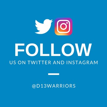 Let's Be Social: @D13Warriors #wfwarriors