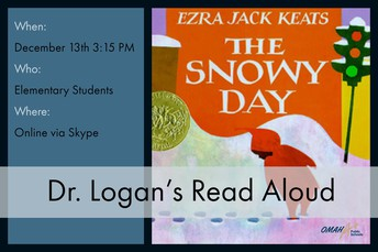 Sign Up for Dr. Logan's Read-Aloud