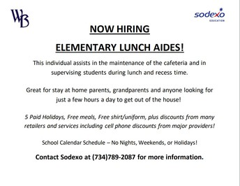 Sodexo is Hiring!