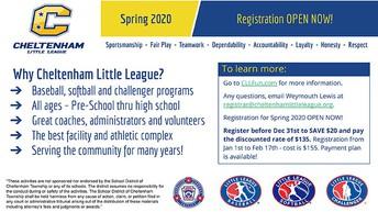 CLL Spring Registration
