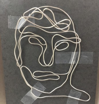 Continuous Contour Wire Drawing