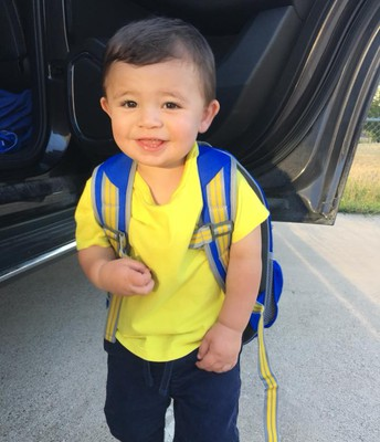 Axel's First day