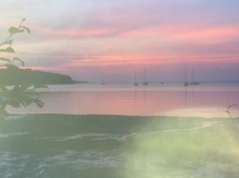 Sunset Big Sand Bay