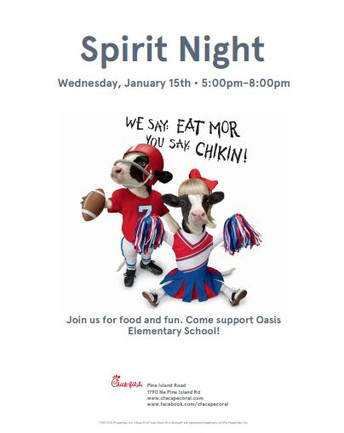 Chick Fil A Night