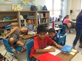 Mrs. Viruette's Class is loving Friday Learning!