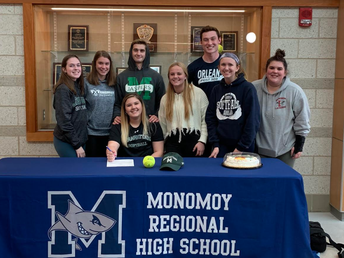 Mollie Charest signs her National Letter of Intent