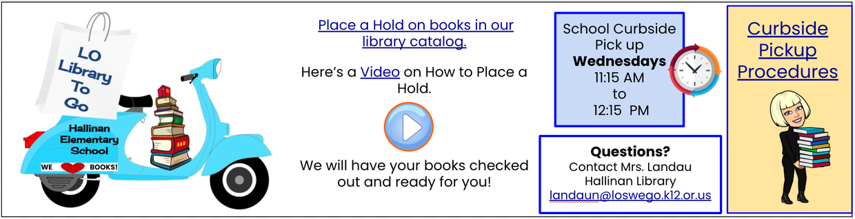 Click Here to be directed to the Hallinan Library webpage