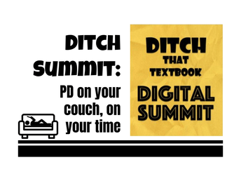 Ditch Summit:  PD On Your Couch
