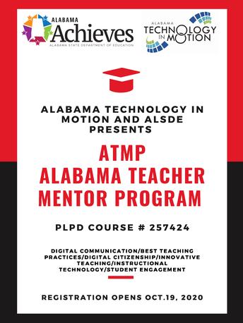 Alabama Teacher Mentor Program: Alabama Technology in Motion