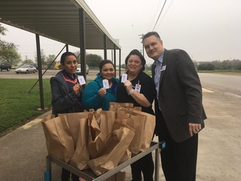 Thanking those who feed our students