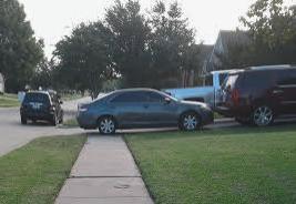 Parking Over Sidewalks