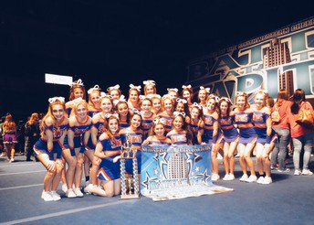 Saints Cheerleaders Win National Championship