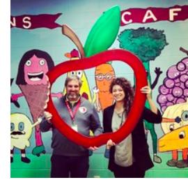 Parsons Elementary Celebrates Apple Crunch Day