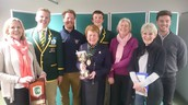 Rowers Receive PTA Award