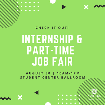 Internship & Part Time Job Fair
