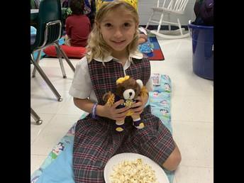 Teddy Bear slumber party in Kindergarten