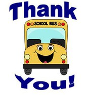 School Bus Driver Appreciation Day- Monday 10/16