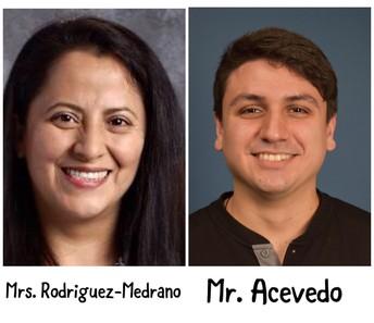 Mrs. Rodriguez-Medrano - Mr.Acevedo