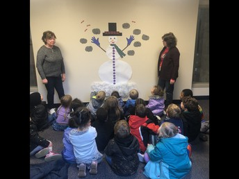 Learning Shapes & Numbers with a Snow Person