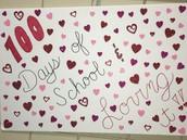 Celebrating 100 days of school!