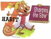 Habit of the Month: Sharpen the Saw! Congratulations to our April Trojan Trompers!