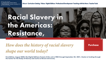 Free Digital Unit on Slavery from the Choices Program