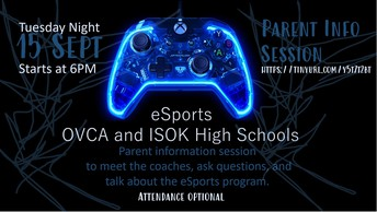 eSports (sign ups currently closed)