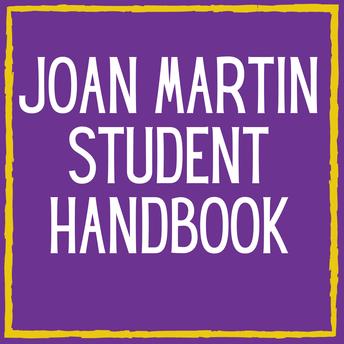 Joan Martin Student Handbook