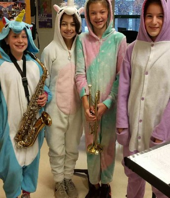 Pajama Day (or is it Unicorn Day???)