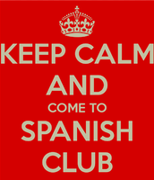 Spanish Club Meeting TODAY