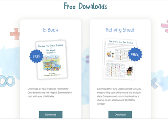 (K-5) Free E-Book and Data Collection Activity Sheet!
