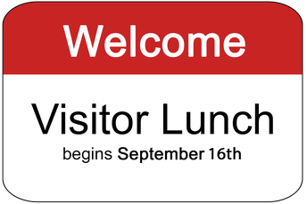 Visitor Lunches