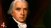 James madison lead:be in charge or command of.