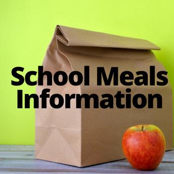 School Meals Information