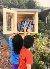 """Would you like a """"free"""" Little Free Library from Page Ahead?"""