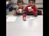 Second Grade Hot Chocolate Party!