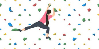 Watch these beginner and advanced climbers from all walks of life.