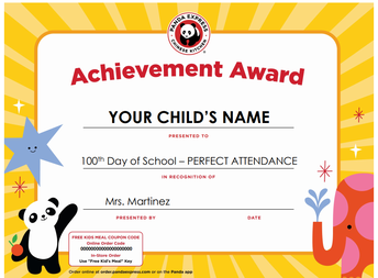 Are you in the Perfect Attendance Raffle?