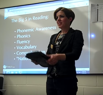 Teaching the big five of reading