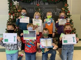 Second Grade Award Winners