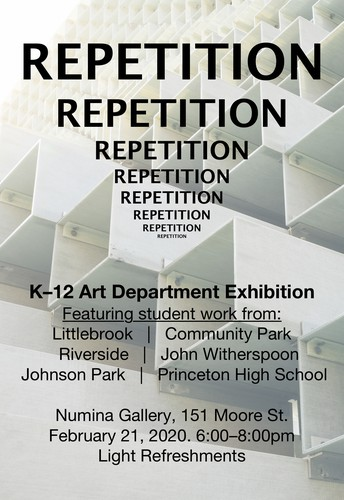"""REPETITION... REPETITION... REPETITION..."" K-12 Art Dept. Exhibition"