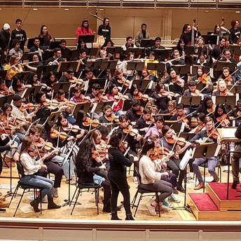 Mather students at the Chicago Symphony Orchestra