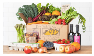 Get Organic Produce Delivered & Earn Money For Thornhill