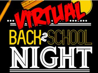 Noche Virtual de Regreso a Clases - 17 de septiembre