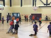 Teacher & Student Dodgeball Game