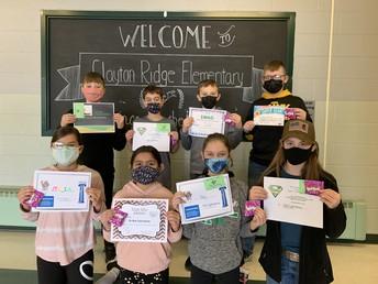 Fifth Grade January Awards